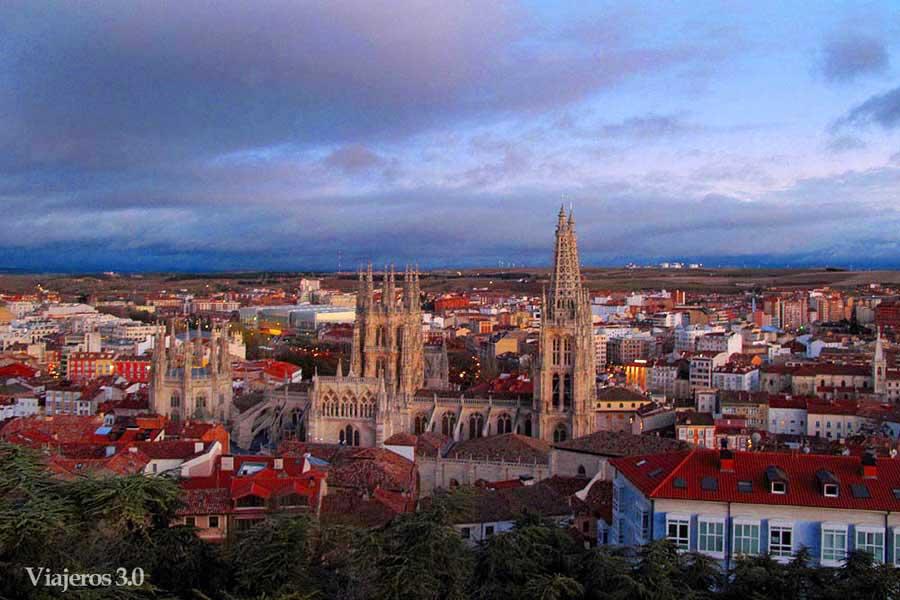mirador del Castillo, qué ver y qué hacer en Burgos en un fin de semana