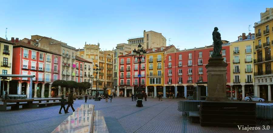 Qué ver y qué hacer en Burgos en un fin de semana, Plaza Mayor de Burgos