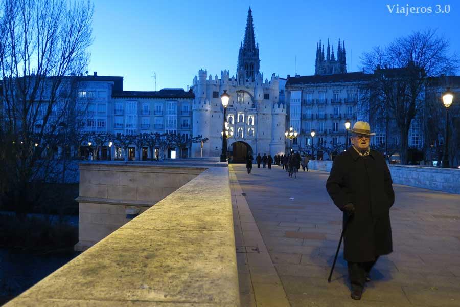 arco y puente de Santa María, qué ver y qué hacer en Burgos en un fin de semana