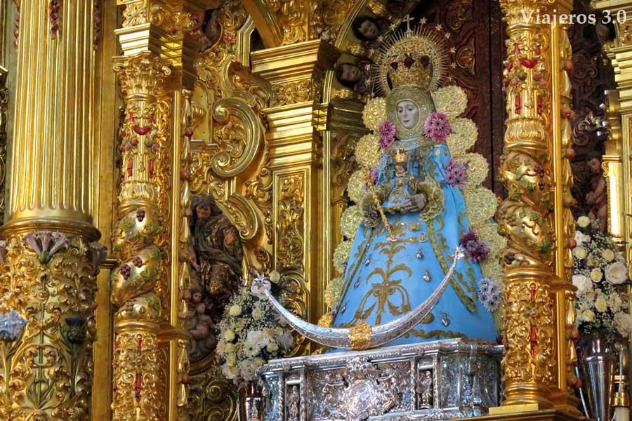 Virgen del Rocío en Huelva