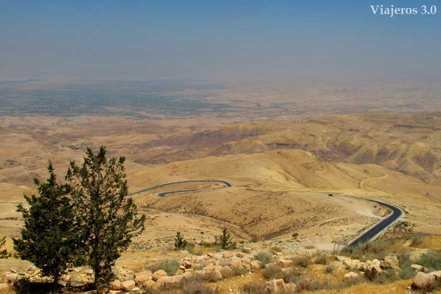 vistas desde el mirador del Monte Nebo
