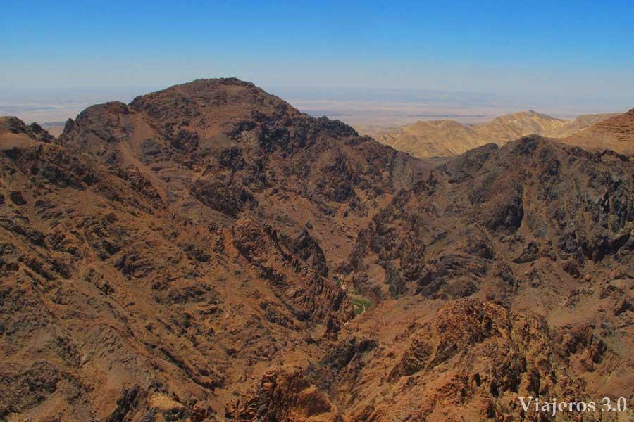 mirador en Petra