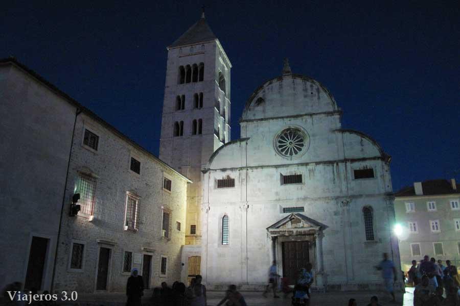 iglesia de Santa María en el Casco Viejo de Zadar