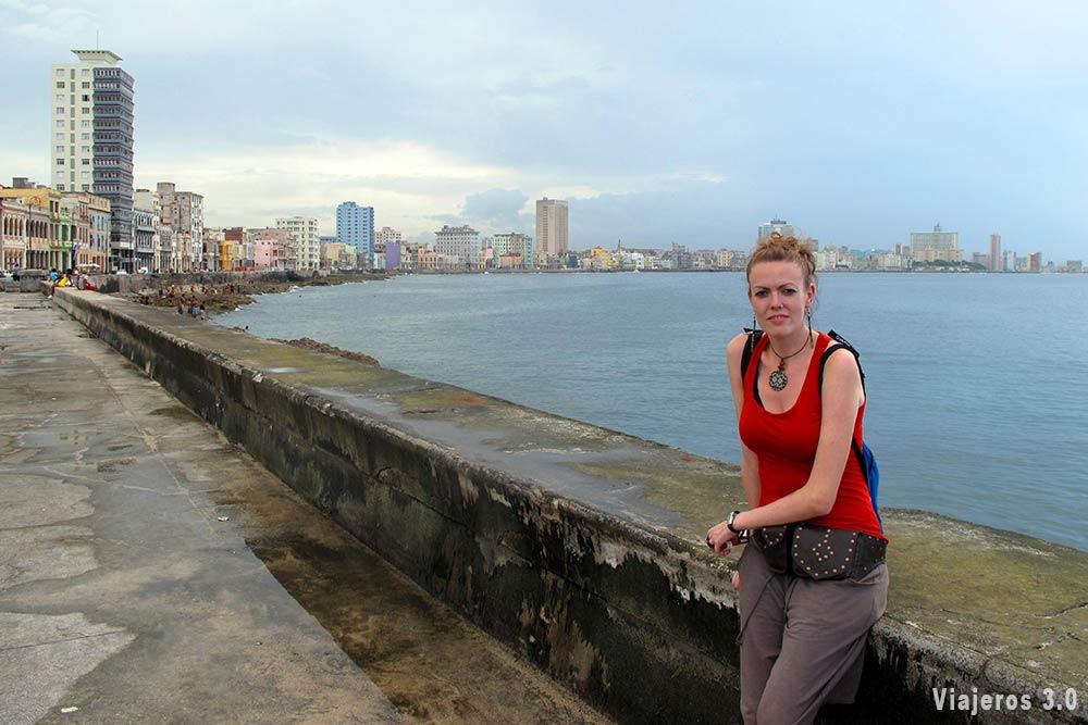 Malecón de La Habana, ruta por Cuba
