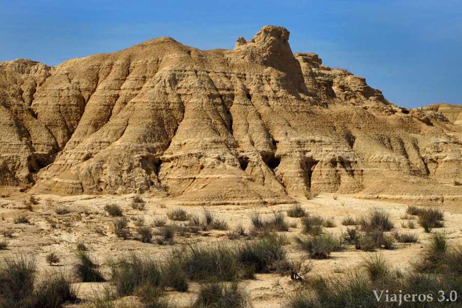 desierto de las Bardenas Reales en Navarra