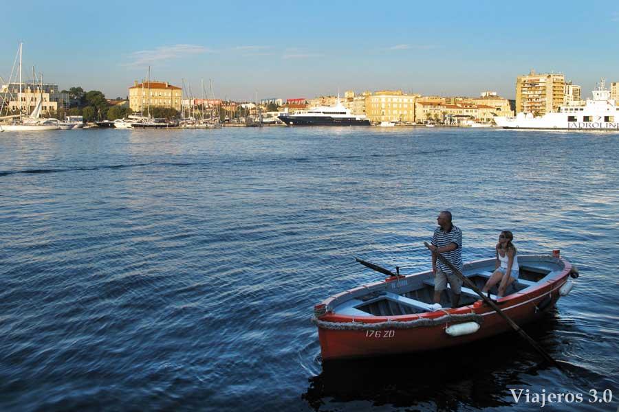 El Barquero de Zadar.