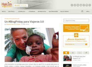 Artículo sobre el blog de viajes Viajeros 3.0 en Halcón Viajes