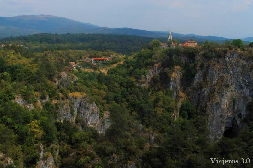 visita a las Grutas de Škocjan