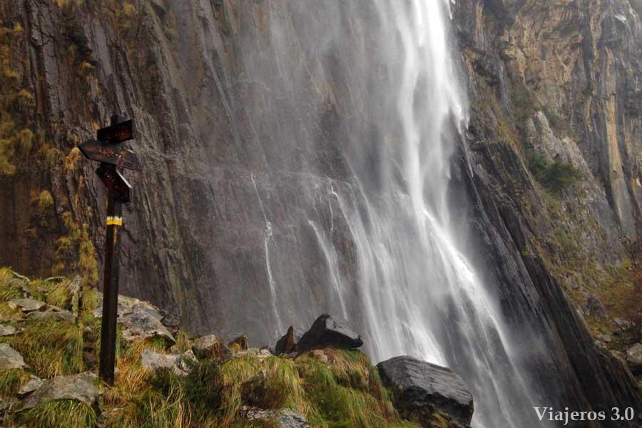 cascada del ason