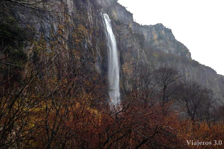 cascada del río Asón, que ver en Cantabria