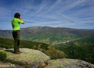 Vistas Garganta de los Infiernos en el Valle del Jerte