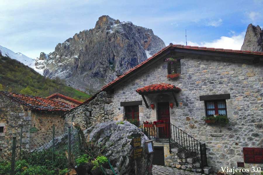 pueblo de Bulnes en Asturias