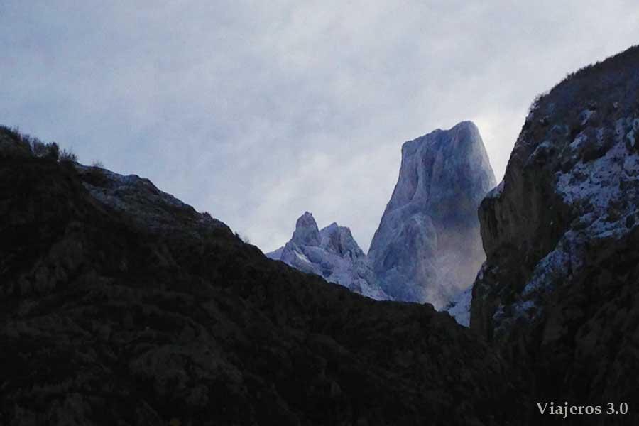 mirador del Pico Urriellu en Bulnes