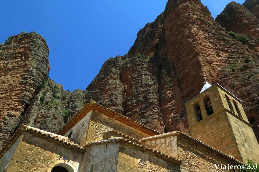 iglesia románica de Riglos