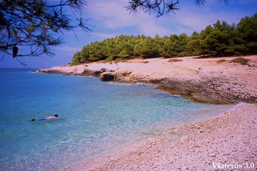 península de Kamenjac en ruta por Croacia