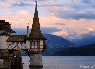 castillos de cuento en Suiza, castillo de Oberhofen
