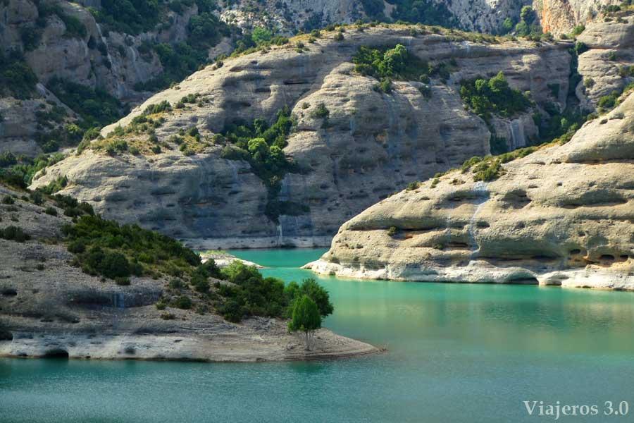 Parque Natural Cañones de Guara, en la provincia de Huesca