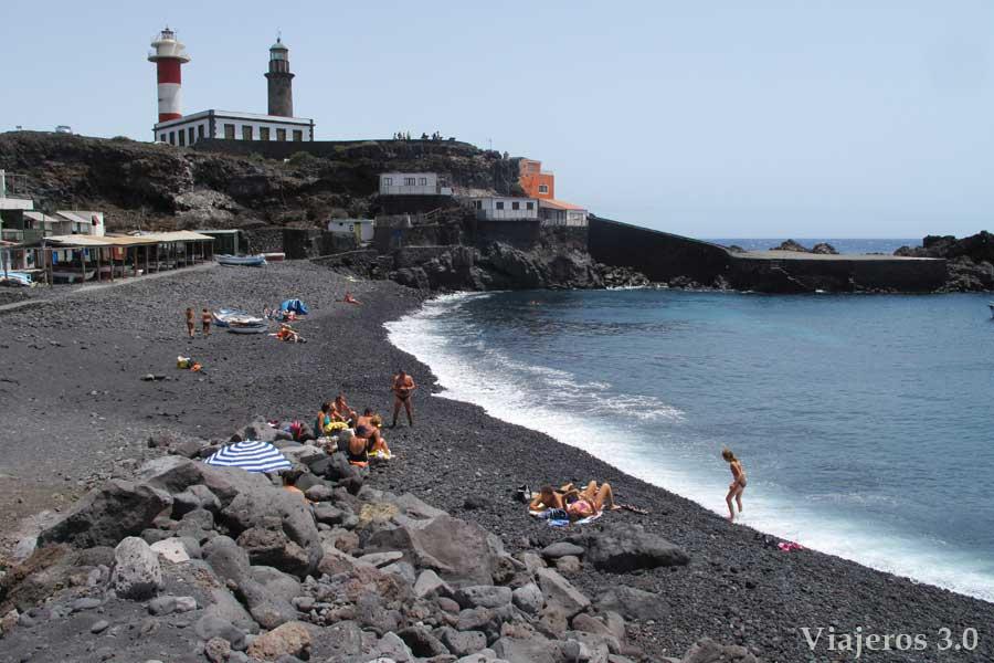Playa del Faro de Fuencaliente en La Palma