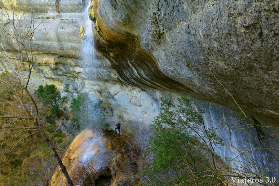 cascada de la Mea en las Merindades