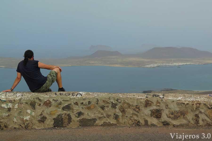 Mirador de Femes sobre el archipiélago de Chinijo