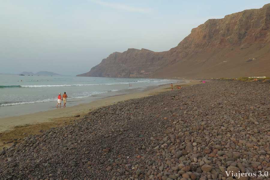 playa de Famara, Lanzarote en 3 días