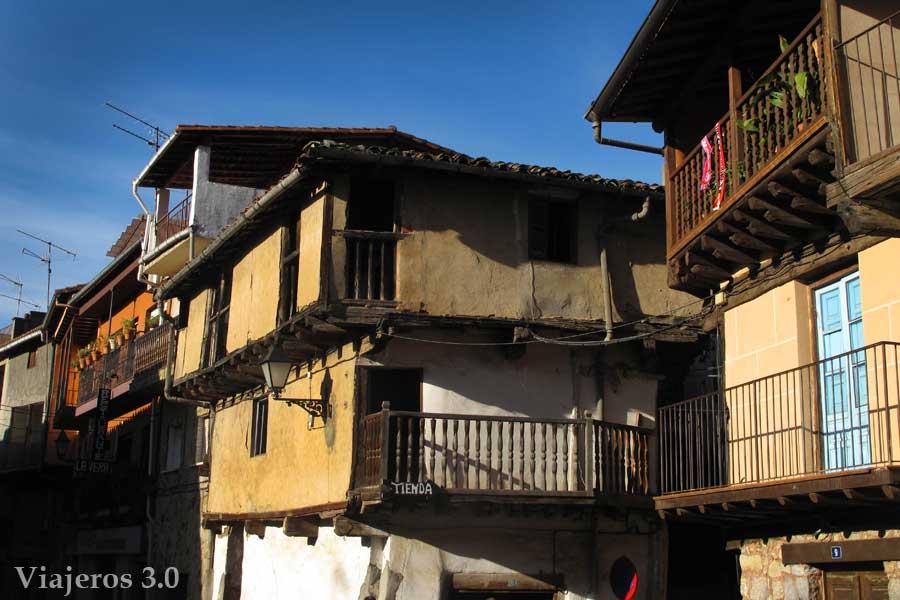 arquitectura tradicional Garganta la Olla