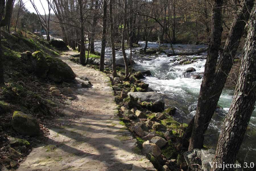 cascadas y piscinas de la comarca de La Vera