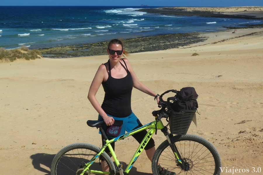 alquiler de bicicletas en La Graciosa