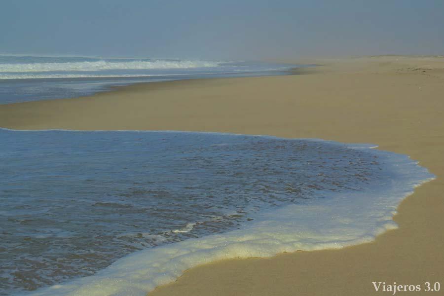 gran playa de São Vicente, playas de Aveiro