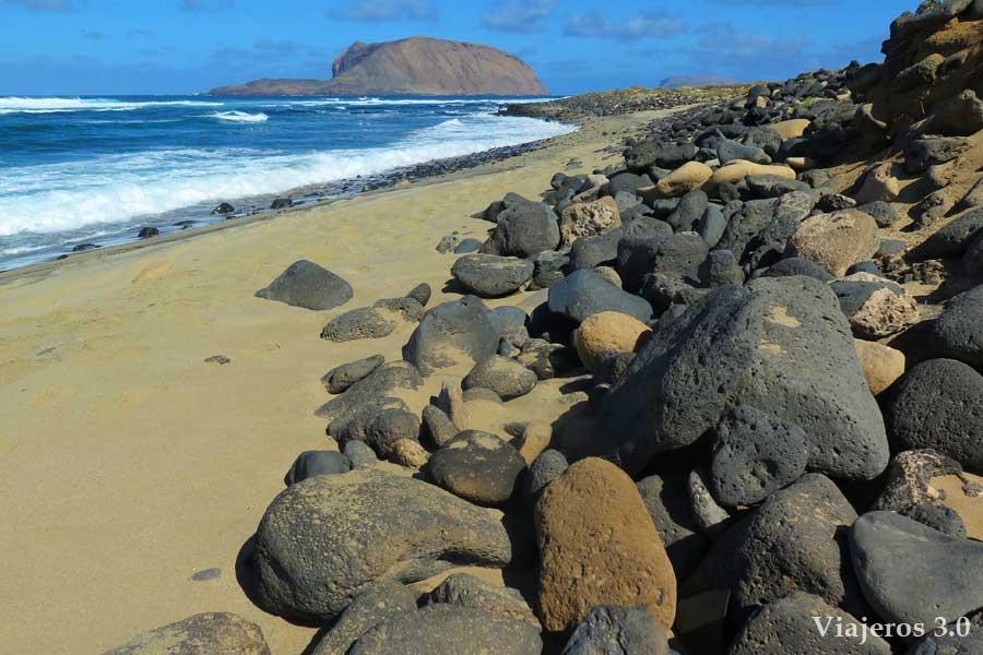 playa Baja del Ganado, qué ver en La Graciosa