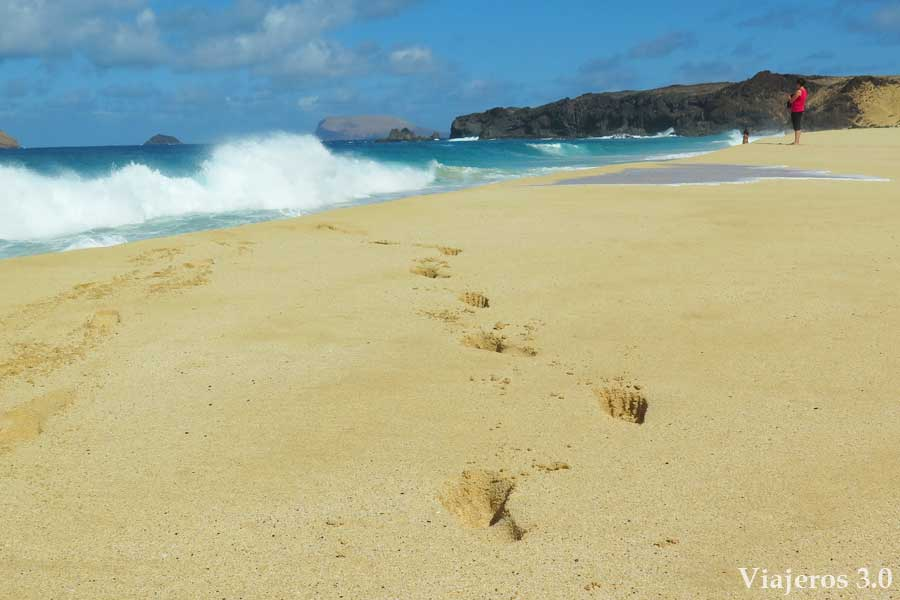 playa de las Conchas, qué ver y qué hacer en la isla de La Graciosa