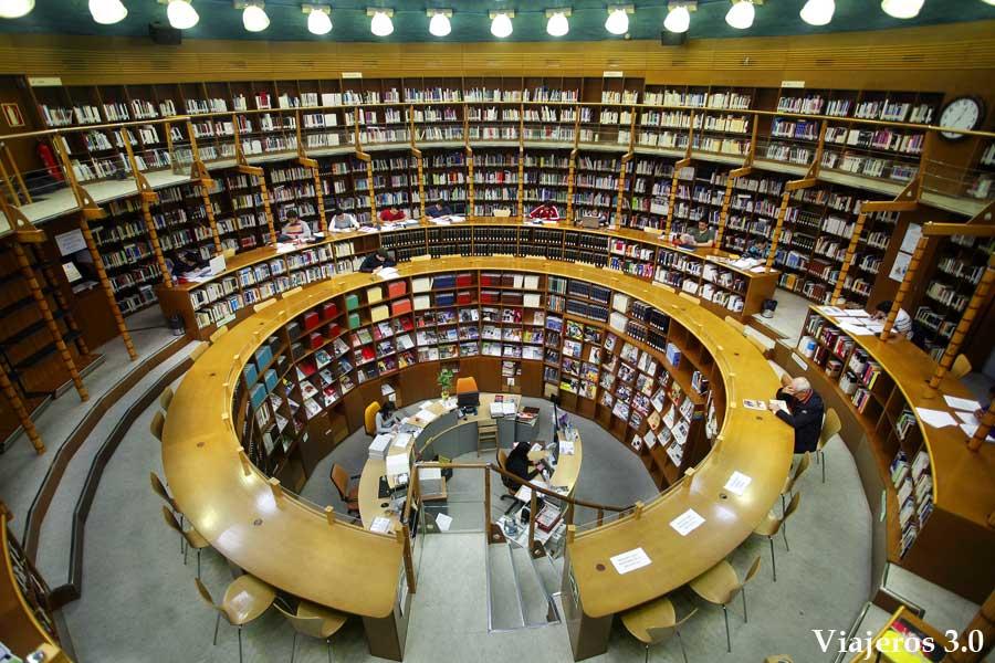 biblioteca de los Depósitos de Sol, visitar Albacete
