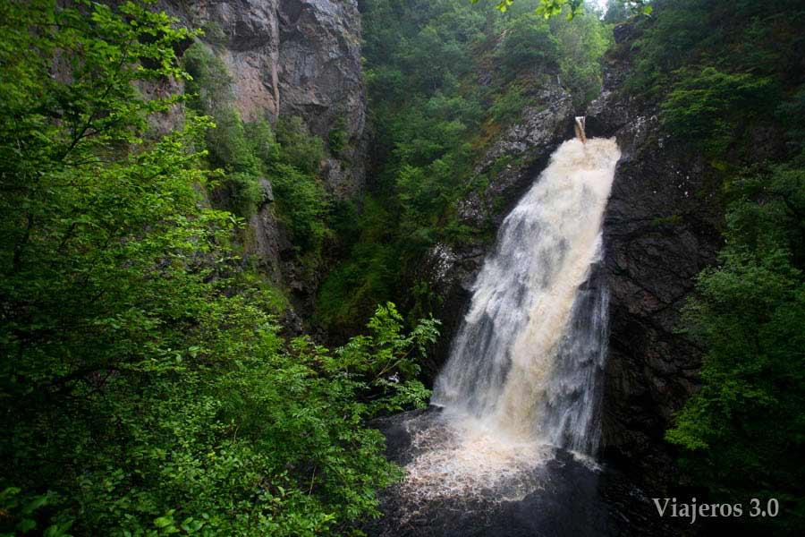 Falls of Foyers en ruta por Escocia