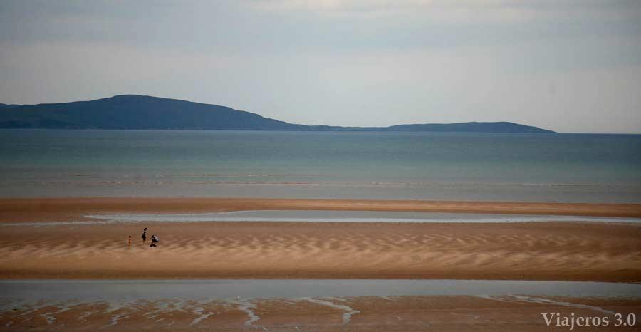 playa de Gruinard en ruta por Escocia