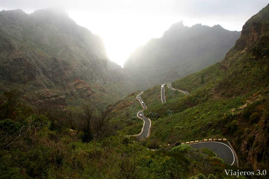 carretera de Masca, qué hacer en Tenerife