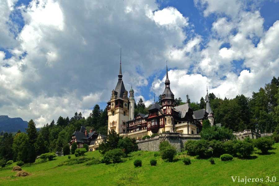 castillo de Peles, que ver cerca de Brasov