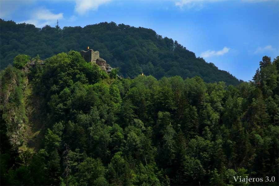 castillo de Poienari