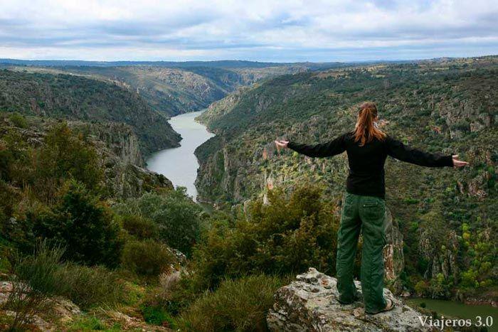Mirador de Las Barrancas en Zamora, Arribes del Duero