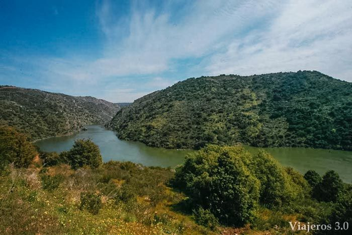 Mirador de Pisoes, miradores en los Arribes del Duero