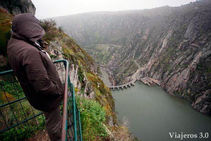 El mirador de Felipe en Arribes del Duero.