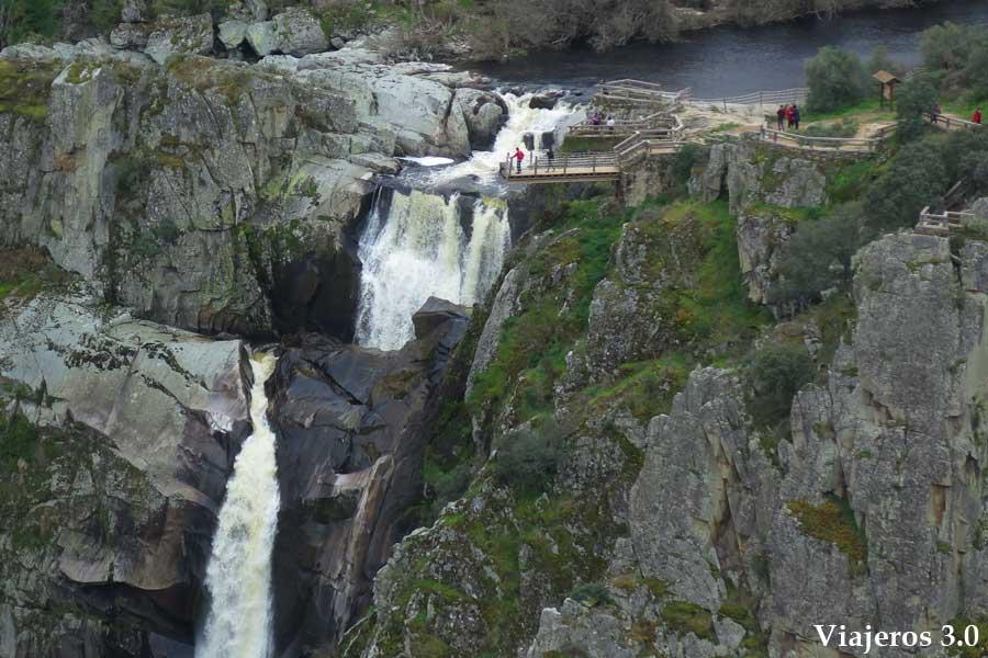 detalle cascada Pozo de los Humos