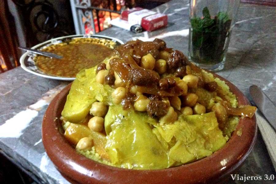 gastronomía en Fez