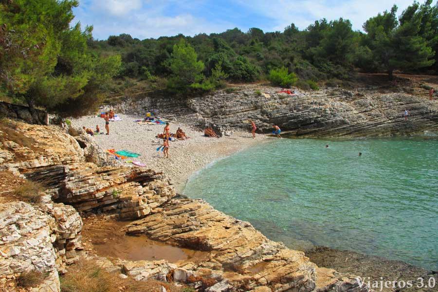 playa de Njive, playas paradisíacas de Croacia
