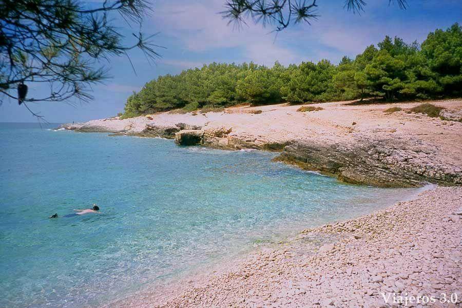 playas paradisiacas de Croacia, cabo de Kamenjak