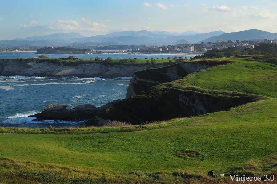Bahía de Santander, desde el Sardinero hasta el faro de Cabo Mayor