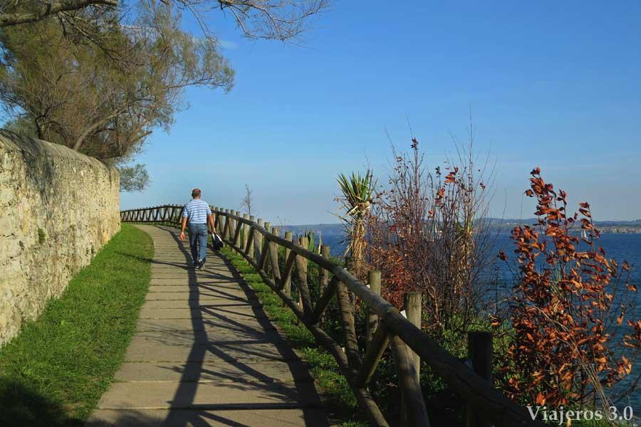 senda de Mataleñas, un paseo por Santander