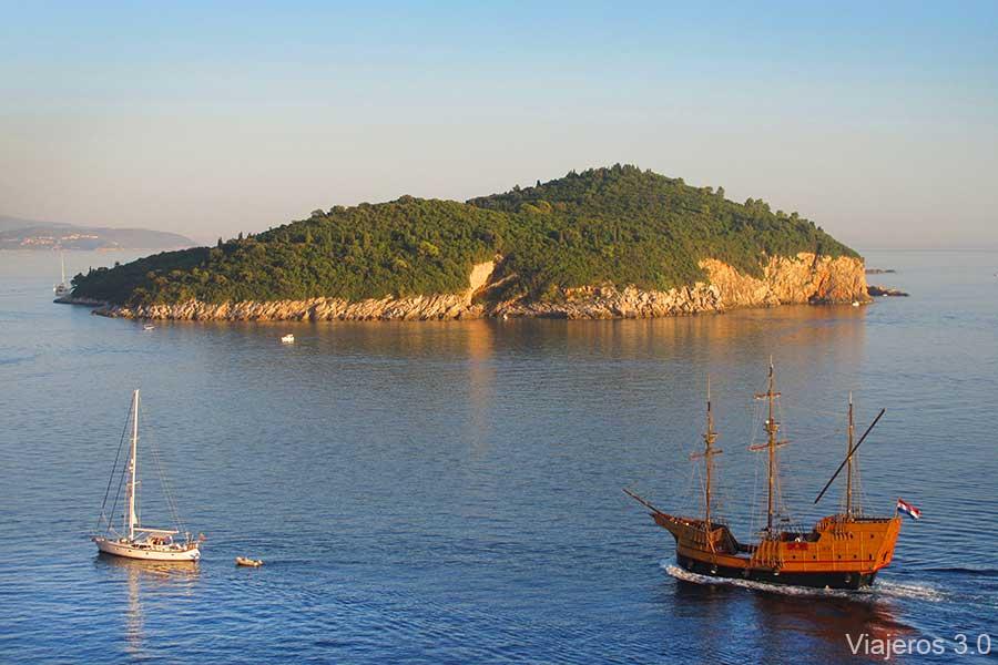Isla de Lokrum, que ver en Dubrovnik
