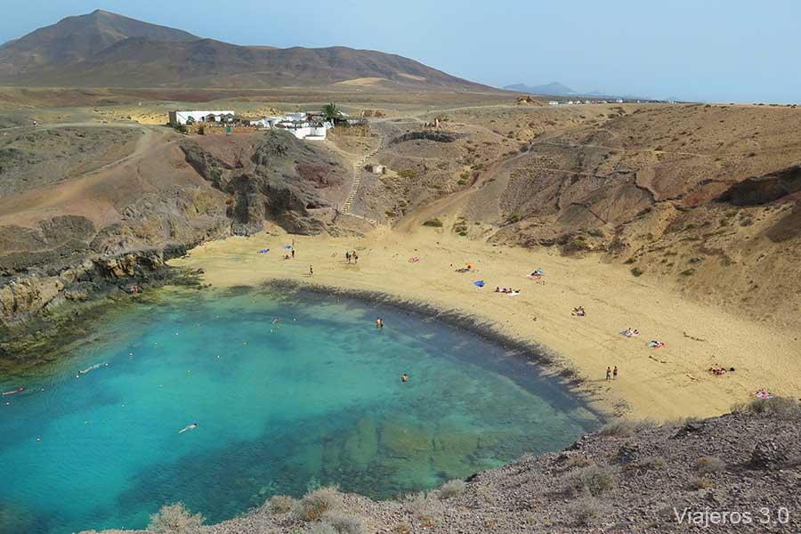 Punta del Papagayo, las mejores playas de Lanzarote