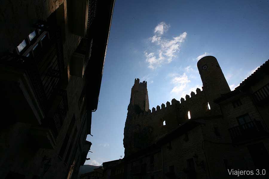 casco medieval de Frías, pueblos con encanto del norte de Burgos