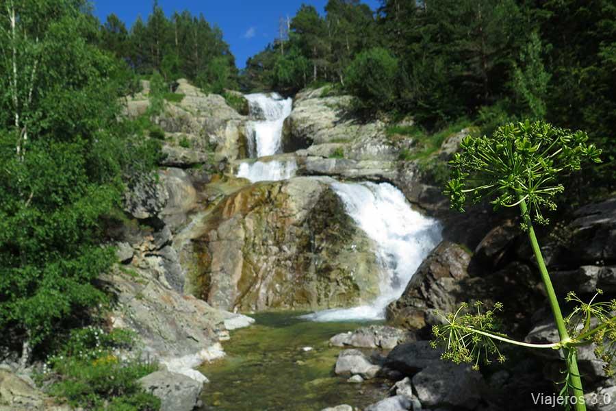 cascadas en el Pirineo leridano